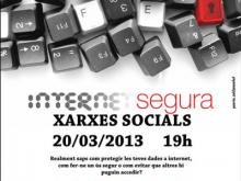 """Xerrada """"Internet Segura: Xarxes Socials"""", a Lleida"""