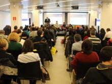 Fotografia de la Jornada de dinamització de la Internet Social 2013