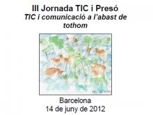 III Jornada TIC i presó