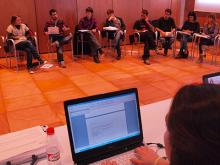 Imatge dels participants de la jornada de 2009