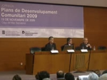 Jornada Plans Desenvolupament Comunitari 2009