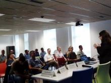 Jornada de Tecnologia mòbil per a l'empresa. Imatge de l'Storify: https://storify.com/GMercat/jornada-tecnologia-mobil-per-a-l-empresa