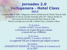 Part del cartell de les jornades 2.0 a Valls