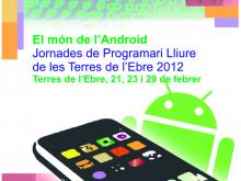 Part del cartell de les Jornades de PL de les Terres de l'Ebre 2012