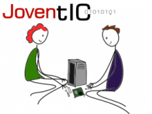 Una de les imatges del portal JovenTIC