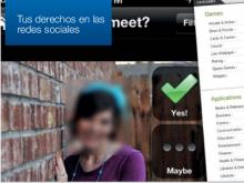 """Imatge de la guia de FACUA """"Tus derechos en las redes sociales"""""""