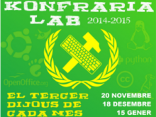 Part del cartell de Kofraria Lab 2014-2015