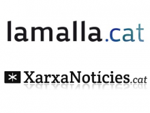 Logotips de la LaMalla.cat i XarxaNoticies.cat