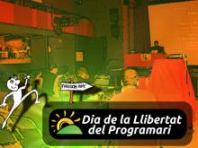 Cartell Dia de la Llibertat del Programari