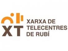Logotip de la Xarxa de Telecentres de Rubí
