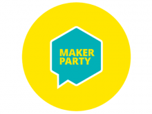 Logotip de Maker Party