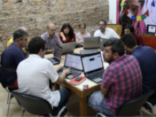 Imatge de la Maker Party de la Xarxa Punt TIC