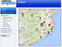 Afegiu el vostre Punt TIC al Mapa de Serveis a l'Emprenedor de Catalunya Emprèn!