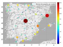 Mapa de l'ús de Meneame - Estudi sobre xarxes socials
