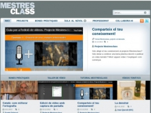 Mestresclass, l'espai per compartir vídeos educatius en català