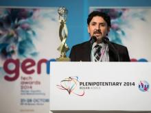 El programa Telecentre Women guanya un Premi GEM-Tech. En la foto Miguel Raimilla, director executiu de Telecentre.org