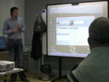 Imatge del transcurs d'una classe al Punt TIC-Òmnia de Tortosa