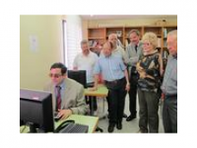 Curs d'introducció a la informàtica i a la navegació per Internet que té per objectiu integrar a persones amb deficiències visuals