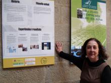 Paloma Hernández, dinamitzadora del Punt TIC del Solsonès