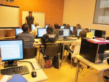 Classes d'informàtica de PQPI al CTC Masquefa