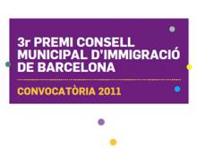 3er Premi Consell Municipal d'Immigració de Barcelona