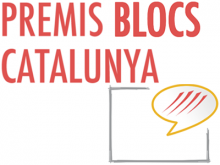 Logotip dels Premis Blocs Catalunya