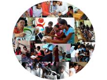 Fotos de diverses candidatures als Premis Globals de Telecentres
