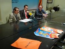 Presentació de la jornada de seguretat a Móra d'Ebre. Imatge de la plana web del Consell Comarcal de la Ribera d'Ebre