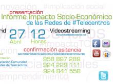 Presentació de l'informe de l'impacte dels telecentres