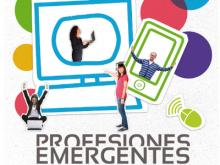 Part del cartell de l'exposició de professions emergents del Consorcio IdenTIC