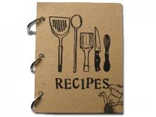 Portada d'un quadern de receptes