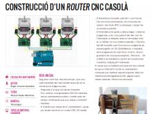 Construcció d'un router CNC casolà