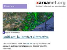Recurs sobre Guifi.net a xarxanet.org