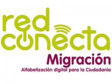 Logotip de Red Conecta Migración