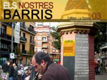 """Part de la portada del número 3 de la revista """"Els nostres barris"""""""