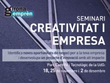Seminari de creativitat i empresa, a Girona