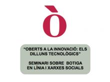 Seminari sobre botiga en línia i xarxes socials