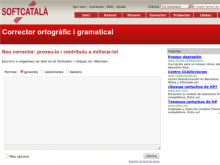 Corrector en línia de Softcatalà