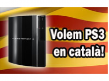 Volem PS3 en català!
