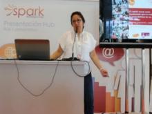 Paloma Valdivia participant a l'Spark 2013