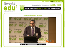 Streaming a l'ITWorldEdu