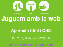 Cartell del Summer Code Party a l'Òmnia Grupo Unión