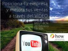 Taller de posicionament a través del vídeo, a Meet BCN