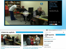 Peu de Carrer de TV, l'edició als Telecentres de Lleida