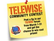 Cartell del concurs Telesaviesa