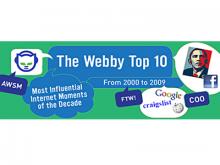 Webby Top 10