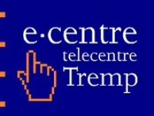 Logotip de l'e-centre de Tremp