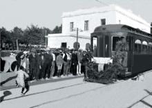 Imatge antiga del tramvia de Rubí