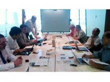Imatge de la trobada de Telecentres d'Europa a Barcelona