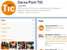 El compte de Punt TIC (@punttic) en català